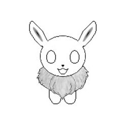 Shiny Eevee Icon (WIP)|by Kody Walker
