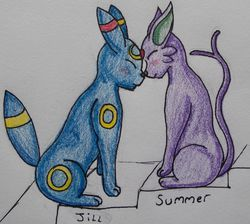 Jill and Summer|by wolfgirl01