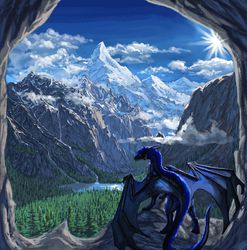 The View from my Cave|by Aaros