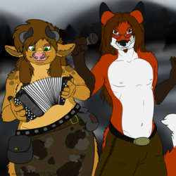 Folk Metal Furs|by Foxpiper