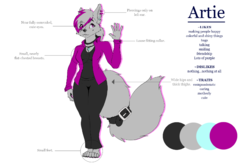 Artie Ref|by AcetheBigBadWolf
