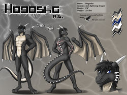 ref200/ Reference: Hogosha (V1, SFW)|by darkgoose