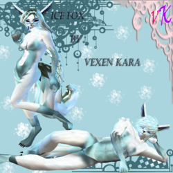 Ice Fox Set M/F|by leitti