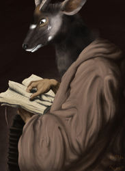 Saint Simon (Anthro Reprise)|by Smexy Oryx