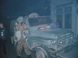 Jeep/Walking Dead/HHN|by Master Sgt Duncan