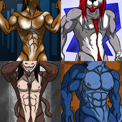 Commissioned Sexy Icons Batch 03|by Iudicium_86