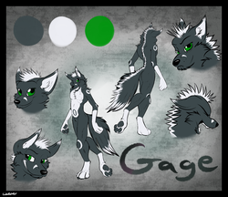 My Ref Sheet|by SpaceFolsky
