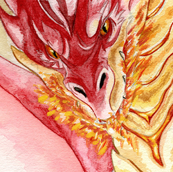 The Great Smaug|by Licantrox