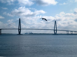 Arthur Ravenel Jr. Bridge, Charleston, SC 3|by SMWolf