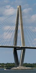 Arthur Ravenel Jr. Bridge, Charleston, SC 2|by SMWolf