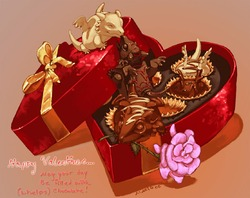 Chocolate assortment whelps|by Sixthleafclover