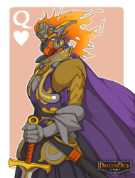 Queen of Hearts|by Tojo-the-Thief
