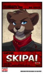 Skipai Confuzzled 2014 badge by Lapres|by Skipai