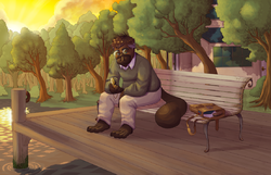Gramps the Platypus - Sitting on the Dock of the Bay|by Kipendo
