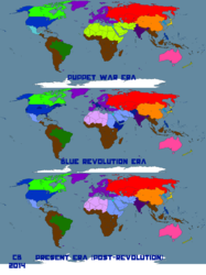 Worldbuilding Map: Pre-, Peri-, and Post-Revolution|by DataPacRat