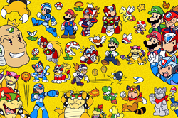 Megaman X/Super Mario Bros 3 all-in-one picture|by samusmmx