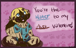 Valentine 2014|by Leanonberger