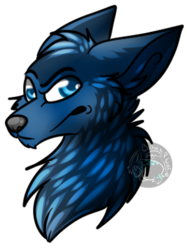 Art Trade: Cobalt|by BipolarWolfy