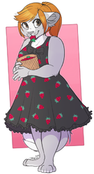 Strawberry Dress|by SBNeko