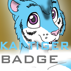 Kai 'cyber' Tiger Badge (2014)|by foski223
