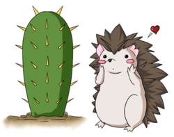 Prickly Love - Shy Attraction|by Kurapika