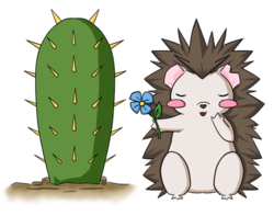 Prickly Love - A Token|by Kurapika