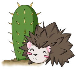 Prickly Love - Snuggles|by Kurapika