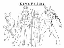 Dawn Falling: Cast|by Zwoosh-K9