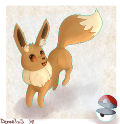 Eevee|by Dennelx3