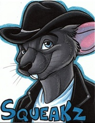 Con Badge by Likeshine|by Squeakz
