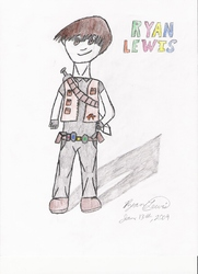 Ryan Lewis in Star Fox Chronicles|by Ryan-masterpaladin-Lewis
