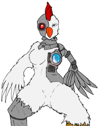 Robot Chick|by Methados
