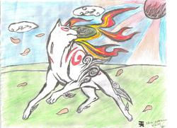 Okami Amaterasu (finished)|by Neofox