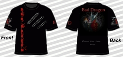 Bad Dragon T-shirt 1|by Granite Dragon