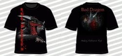 Bad Dragon T-shirt 2|by Granite Dragon